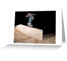 Josh Kalis SW Back Tail, AZ, Photo by Joe Hammeke Greeting Card