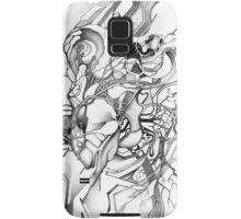 Enter the Branching Sequence - Sketch Pencil Illustration Samsung Galaxy Case/Skin