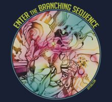 Enter the Branching Sequence - Sketch Pencil Illustration Kids Clothes