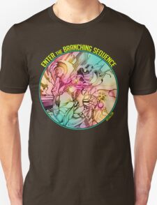 Enter the Branching Sequence - Sketch Pencil Illustration Unisex T-Shirt
