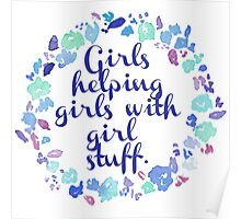 Girls Helping Girls Poster