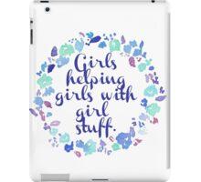 Girls Helping Girls iPad Case/Skin