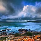 Brooding Storm Clouds by Jill Fisher