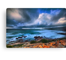 Brooding Storm Clouds Canvas Print