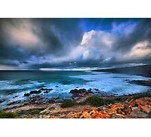 Brooding Storm Clouds Photographic Print