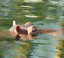 Hippo(underpaint) by Matt Jewitt