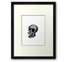 Skully Framed Print