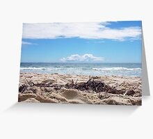 Leighton Beach Cloud - 07 10 12 Greeting Card