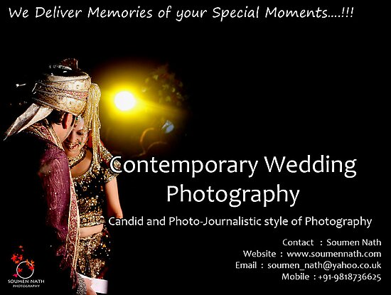 Contemporary Wedding Photography by soumennath