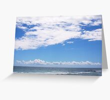 Leighton Long Cloud North-West - 07 10 12 Greeting Card