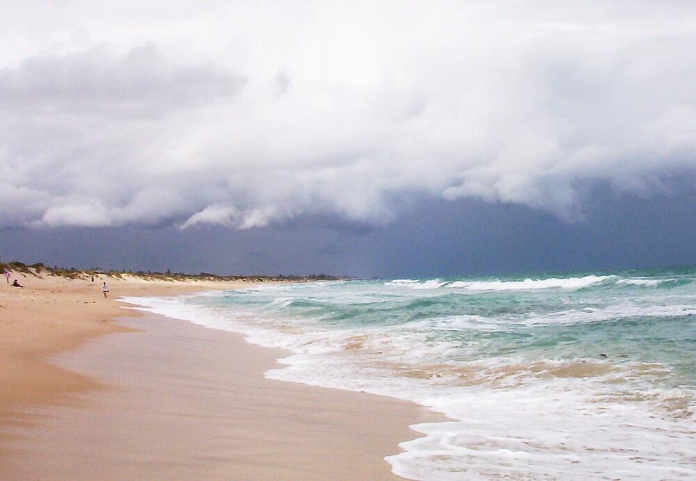 Storm Cloud Brighton Three - 07 10 12 by Robert Phillips