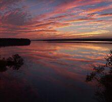 Blue October, Jordan Lake, NC by Denise Worden