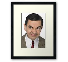 Bean there, done that Framed Print