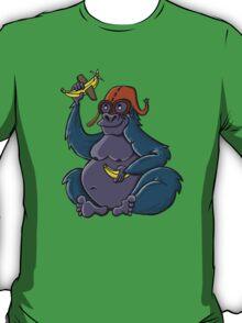Gorilla dreaming of being a pilot T-Shirt