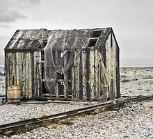 Fishermans Hut by Catherine Hamilton-Veal  ©