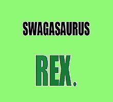 Swagasaurus Rex by emperorBear