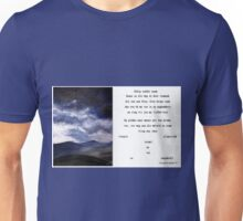 Gedig sonder naam Unisex T-Shirt
