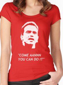 arnold schwarzenegger Women's Fitted Scoop T-Shirt