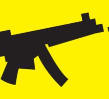 Beware Digital GAMER crossing design Sticker