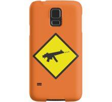 Beware Digital GAMER crossing design Samsung Galaxy Case/Skin