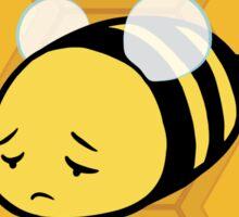 Bee Sad Sticker