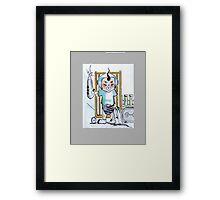 Sargent Petey Framed Print