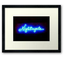 Nightingales Framed Print
