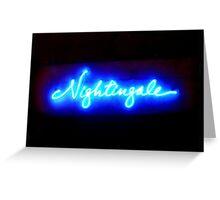 Nightingales Greeting Card
