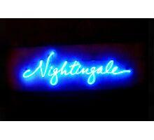 Nightingales Photographic Print