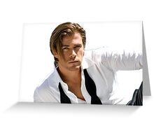Chris Hemsworth Greeting Card