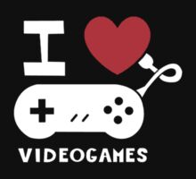 I Love Videogames by SpatArt
