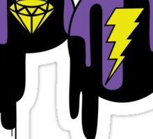 KPOP Drip Purple Sticker
