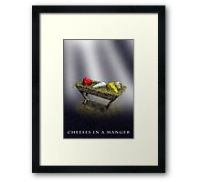 Cheeses in a Manger Framed Print