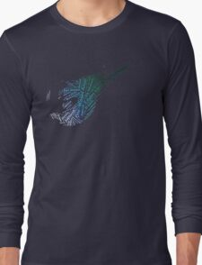 Final Fantasy VII logo One-Winged Angel Long Sleeve T-Shirt