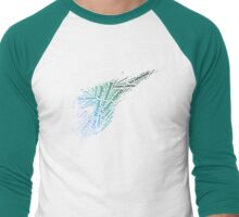 Final Fantasy VII logo One-Winged Angel Men's Baseball ¾ T-Shirt