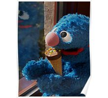 Hungry Grover Poster