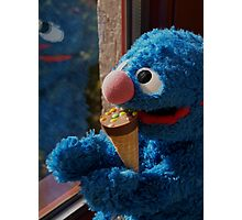 Hungry Grover Photographic Print