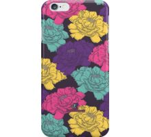 Floaty Floral Surface Pattern iPhone Case/Skin