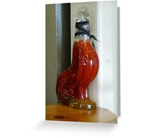 Peppered Rooster Greeting Card