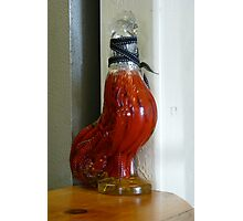 Peppered Rooster Photographic Print