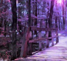 A Walk in the Woods Sticker