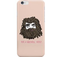 Hagrid (Pink) iPhone Case/Skin