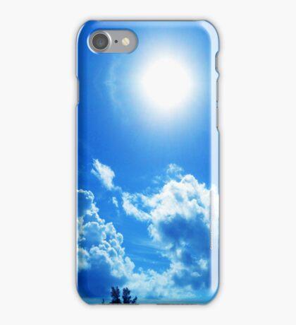 White Sun iPhone Case/Skin