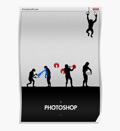 99 Steps of Progress - Photoshop Poster