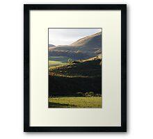 The Pentlands Framed Print