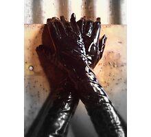 Gloves Photographic Print