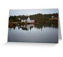 Grand River Cape Breton Nova Scotia Canada Greeting Card