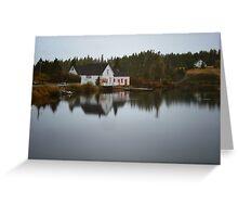 Grand River Cape Breton Nova Scotia Canada Greeting Card