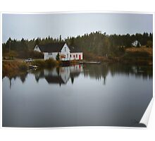 Grand River Cape Breton Nova Scotia Canada Poster