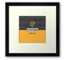 Cohiba Cuban Havana Cigar Framed Print